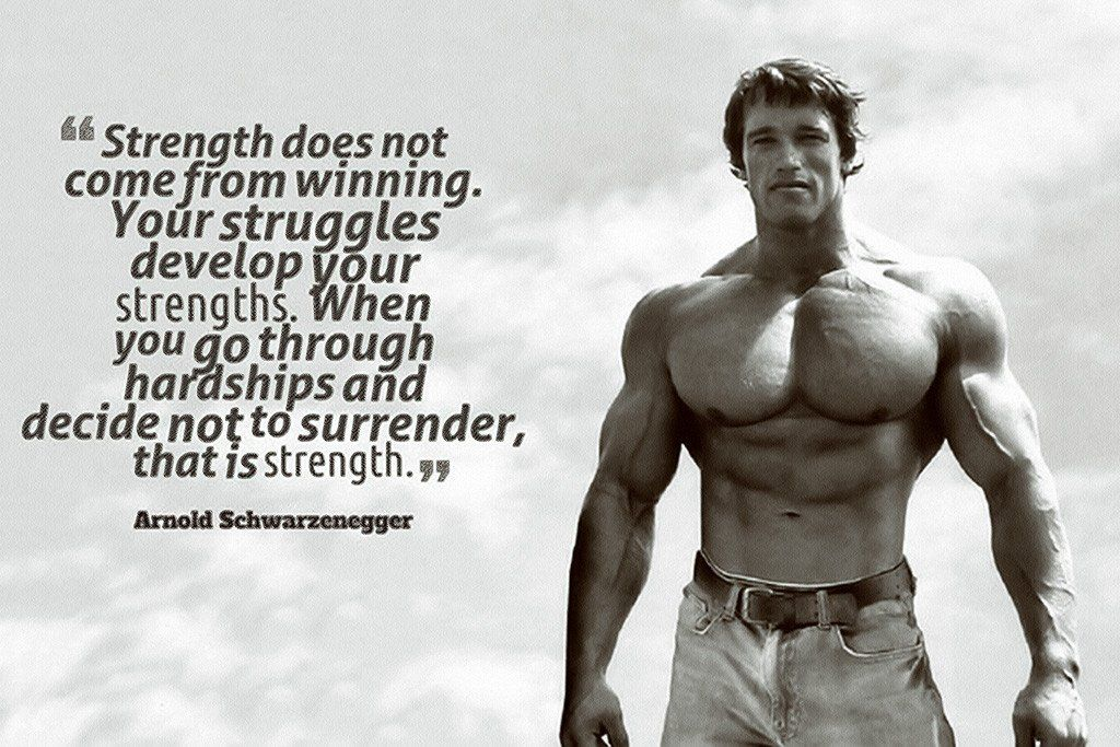 [IMAGE] Strength comes from within