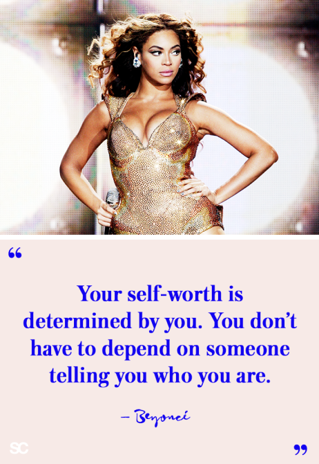 66 Your self-worth is determined by you. You don't have to depend on someone telling you who you are. - KW 99 https://inspirational.ly