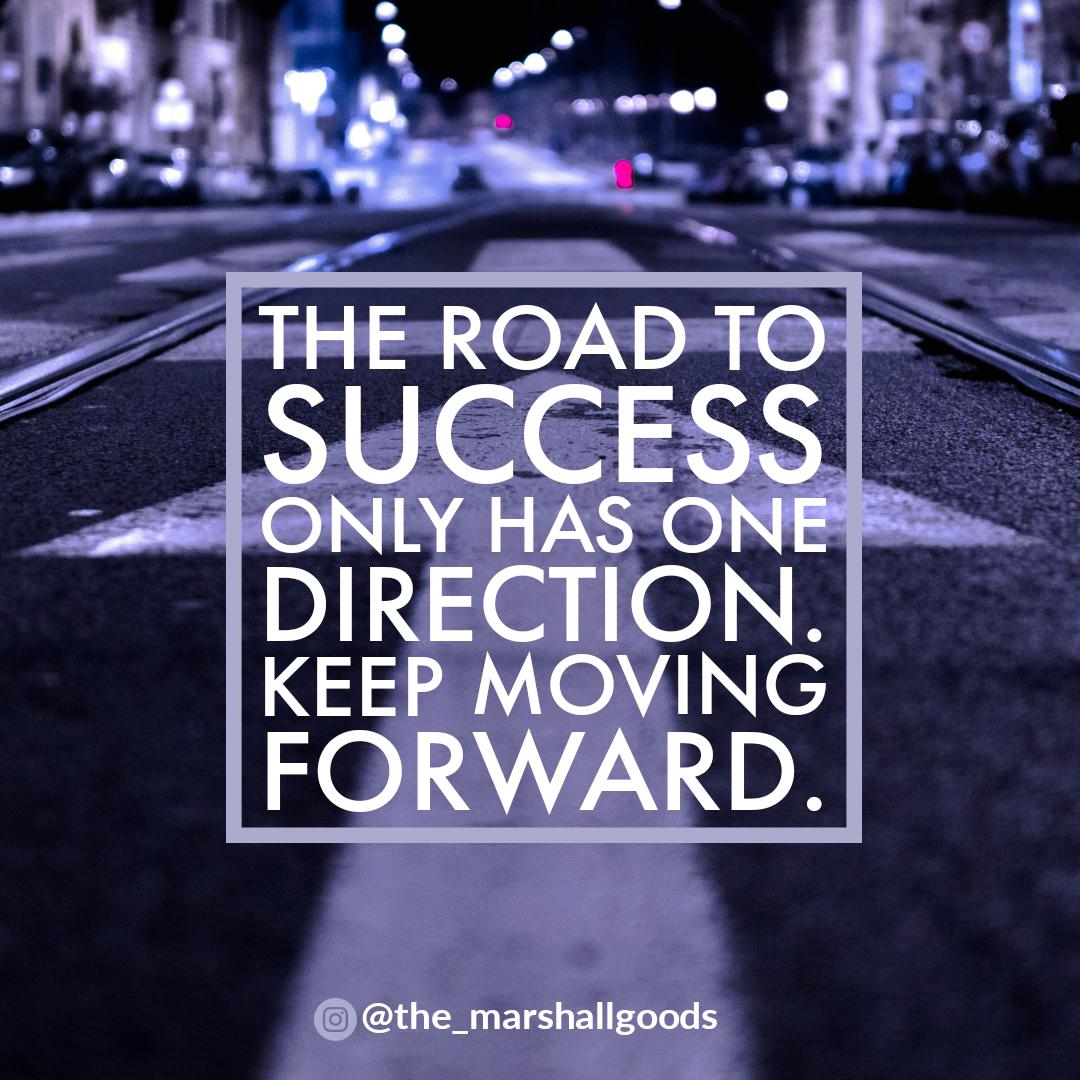 Keep moving forward. [Image]