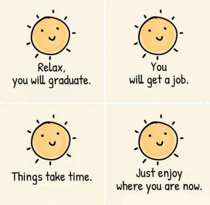 [Image] Relax and don't worry so much