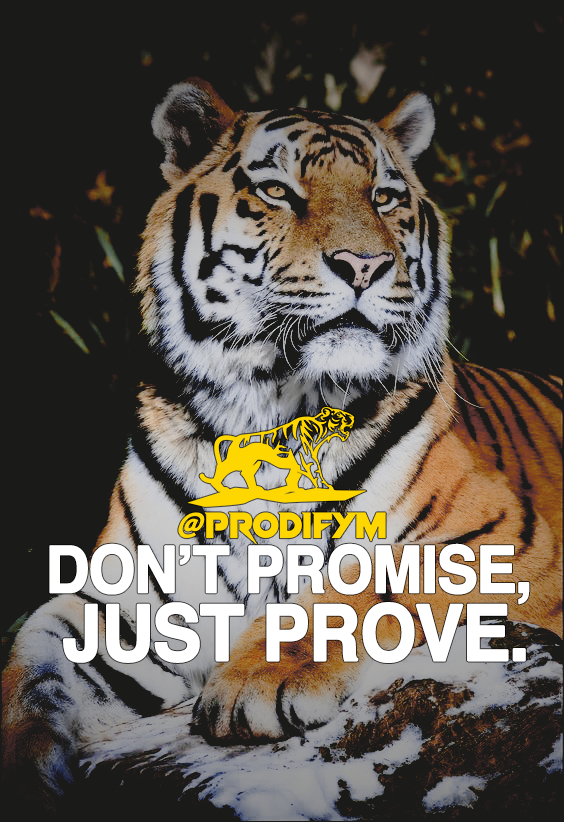 [image] Don't promise, just prove.