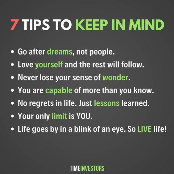 [IMAGE] I agree with most of these. Anyone else have some tips to add to the list?