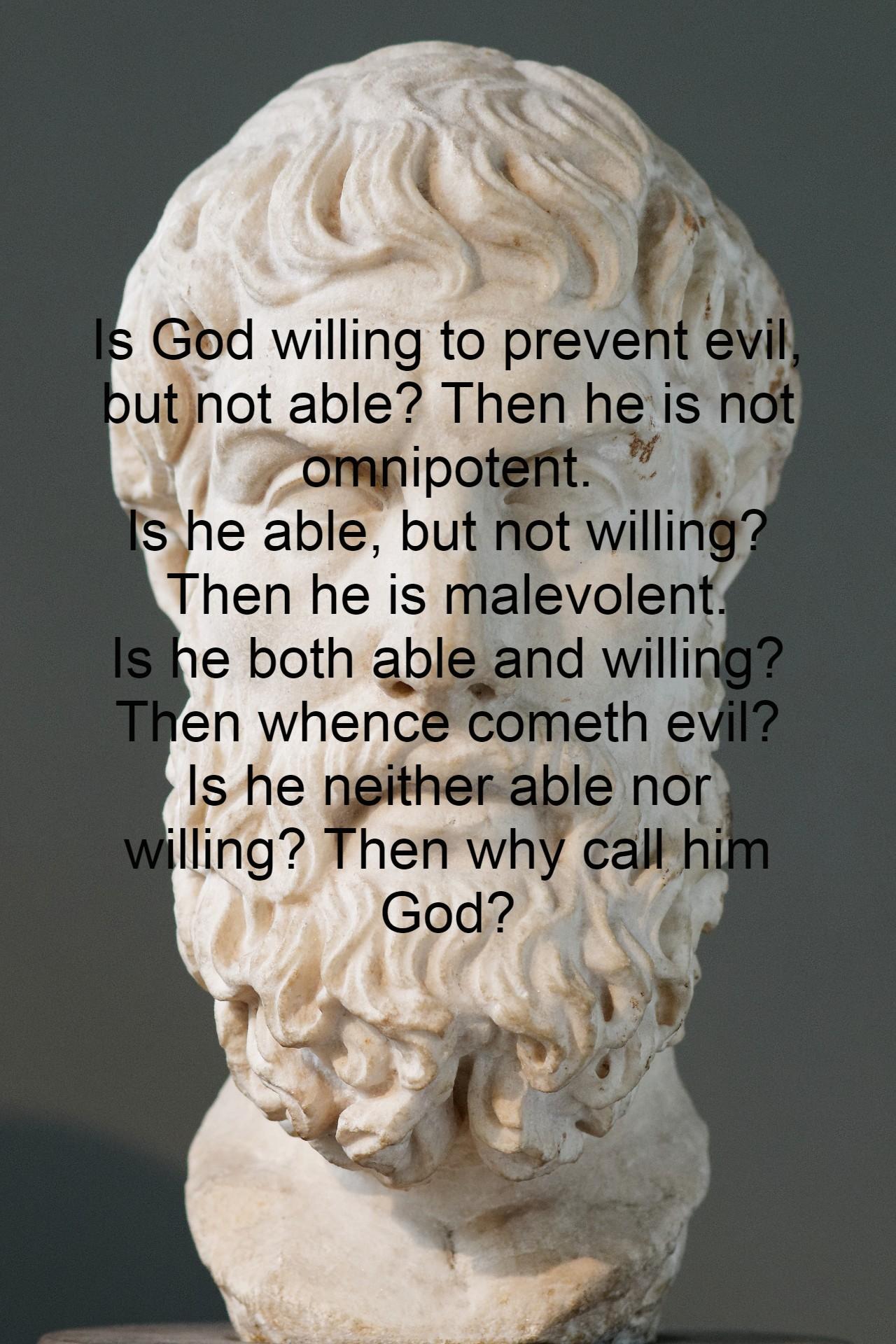 """"""" Whence Cometh Evil…"""" Epicurus [ 1280 x 1920 ]"""
