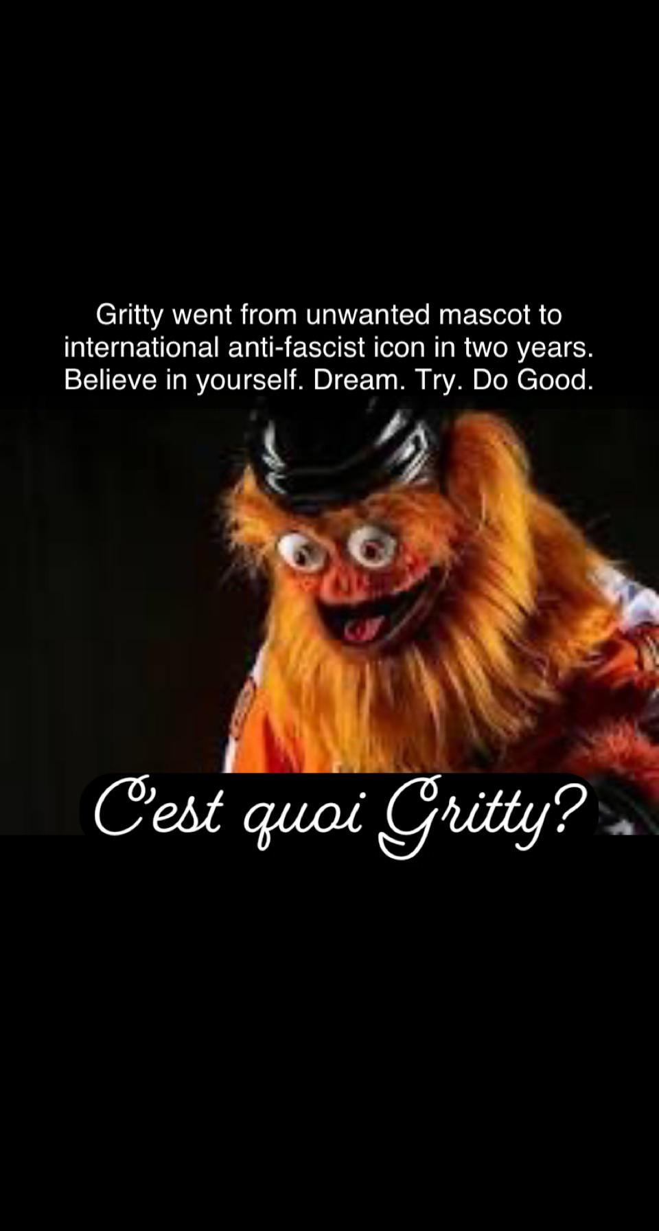 Cest quoi Gritty [Image]