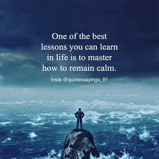 [Image] Remain Calm Always
