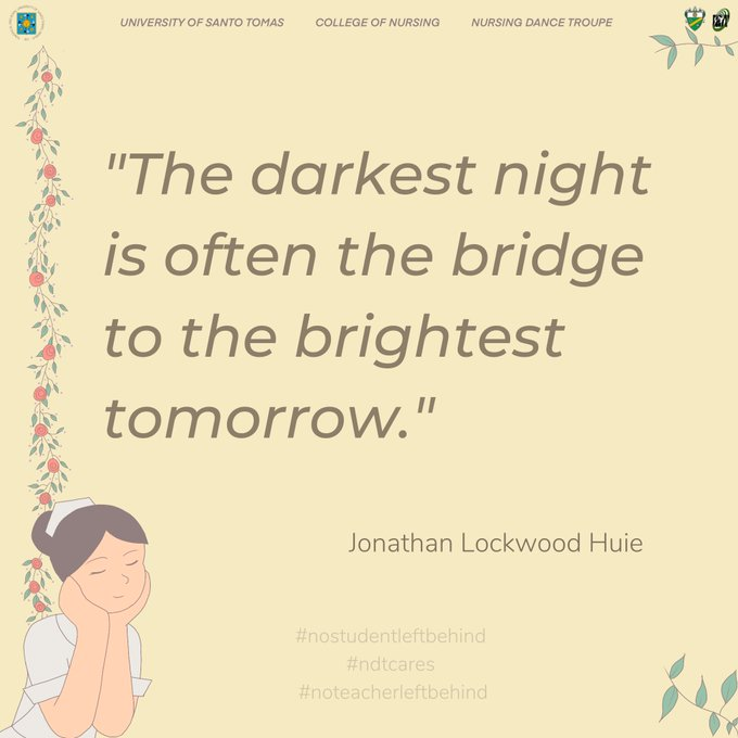 """The darkest night is often the bridge to the brightest tomorrow."" – Jonathan Lockwood Huie [680×680]"