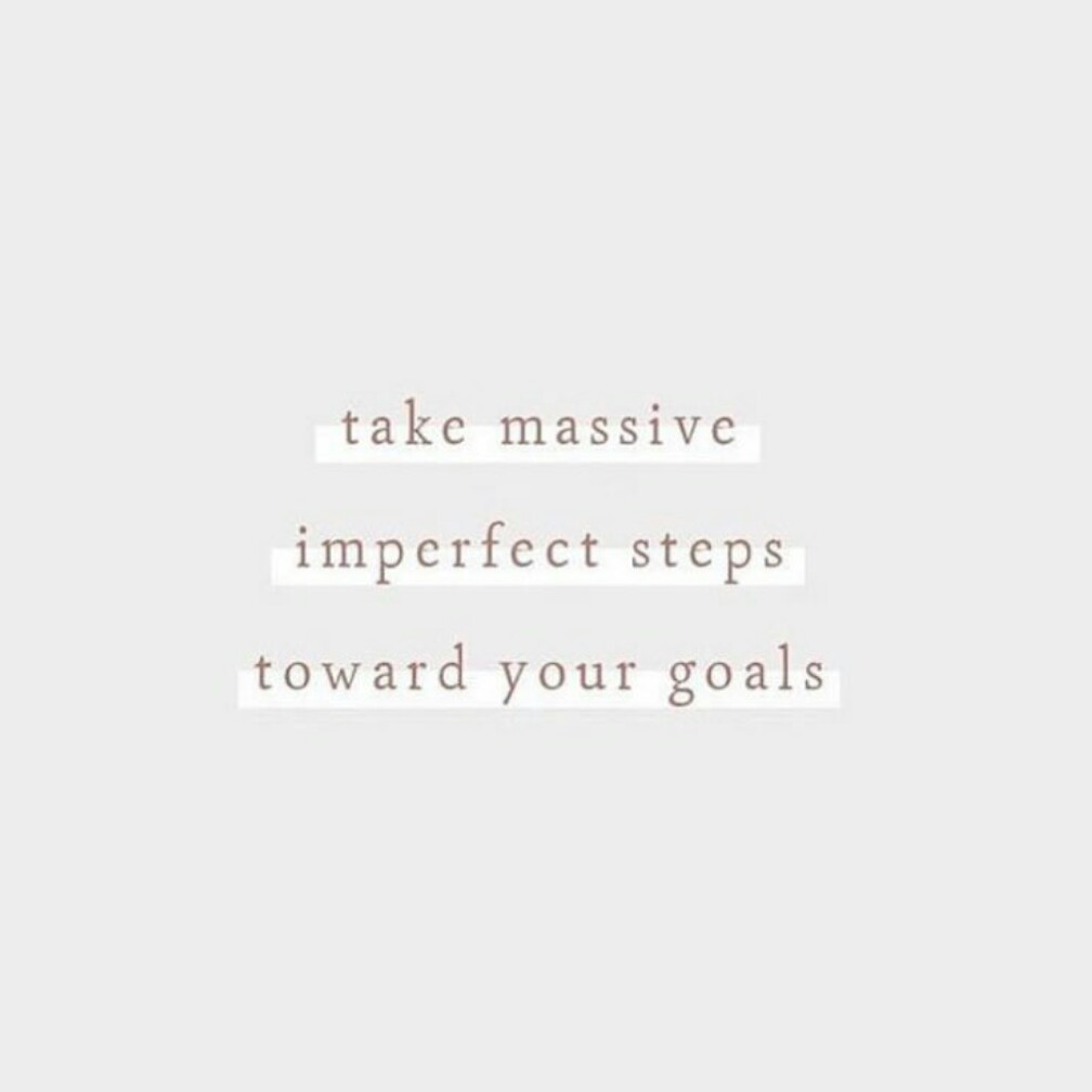 [Image] Imperfect Is Still a Step Closer…