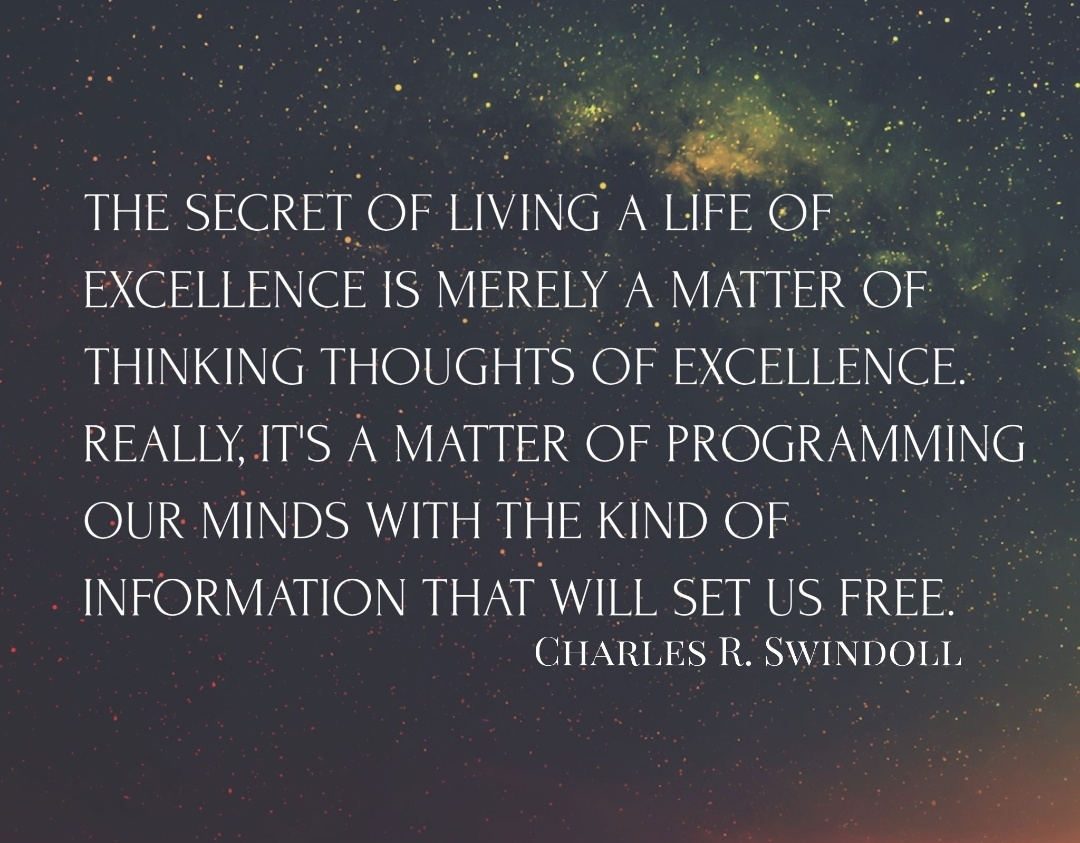 [Image] Manifesting Excellence