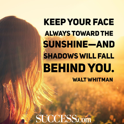 Keep you face always toward the SUNSHINE-Walt whitman [2048 x 2048]