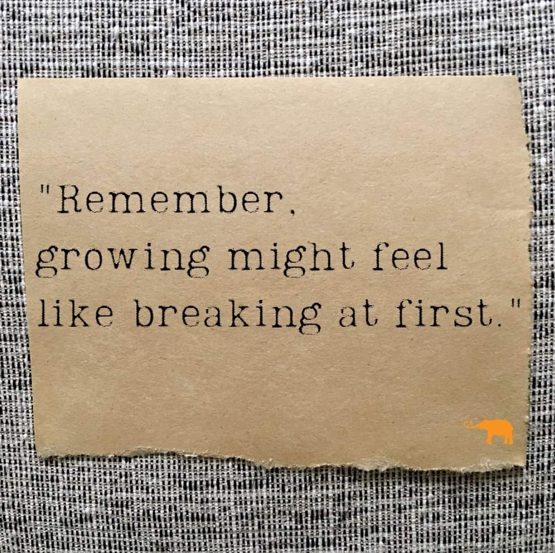[Image] Growth is not meant to be easy; it's meant to be worth it. Keep moving toward your goals, you got this!
