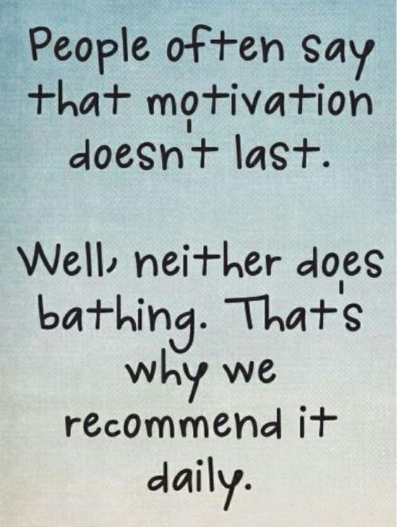 [IMAGE] What's motivating you today?