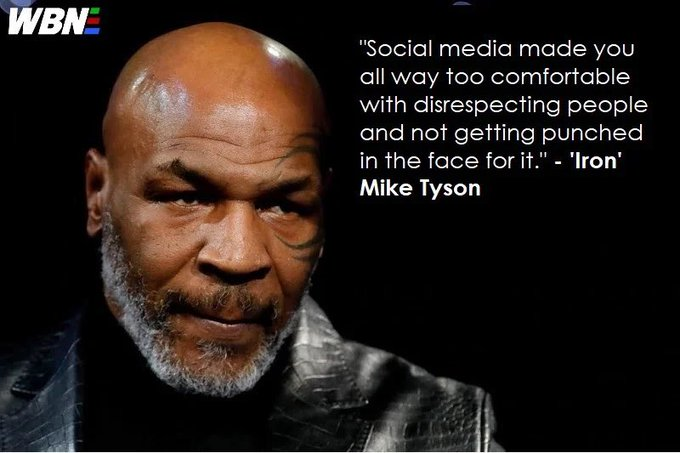 Social media made you too comfortable with disrespecting people – Iron Mike Tyson [680×453]