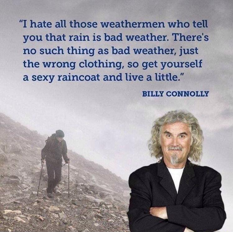 I hate all those weathermen ~Billy Connolly [749 X 745]