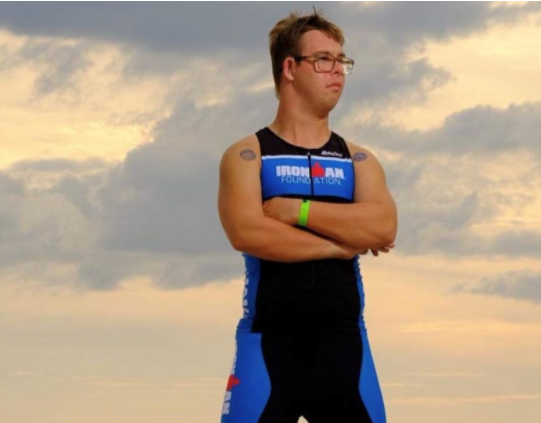 [Image] Chris Nikic, Special Olympics Florida, made history as the 1st person with Down syndrome to complete an Ironman Triathlon, landing him in the Guinness World Records & inspiring so many around the world! His outlook through his training process has been simple: Get 1% better every day