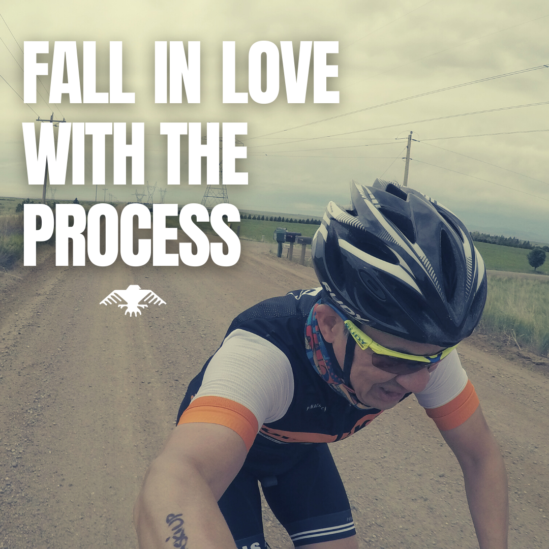 [image] Fall in love with your goal but also the process