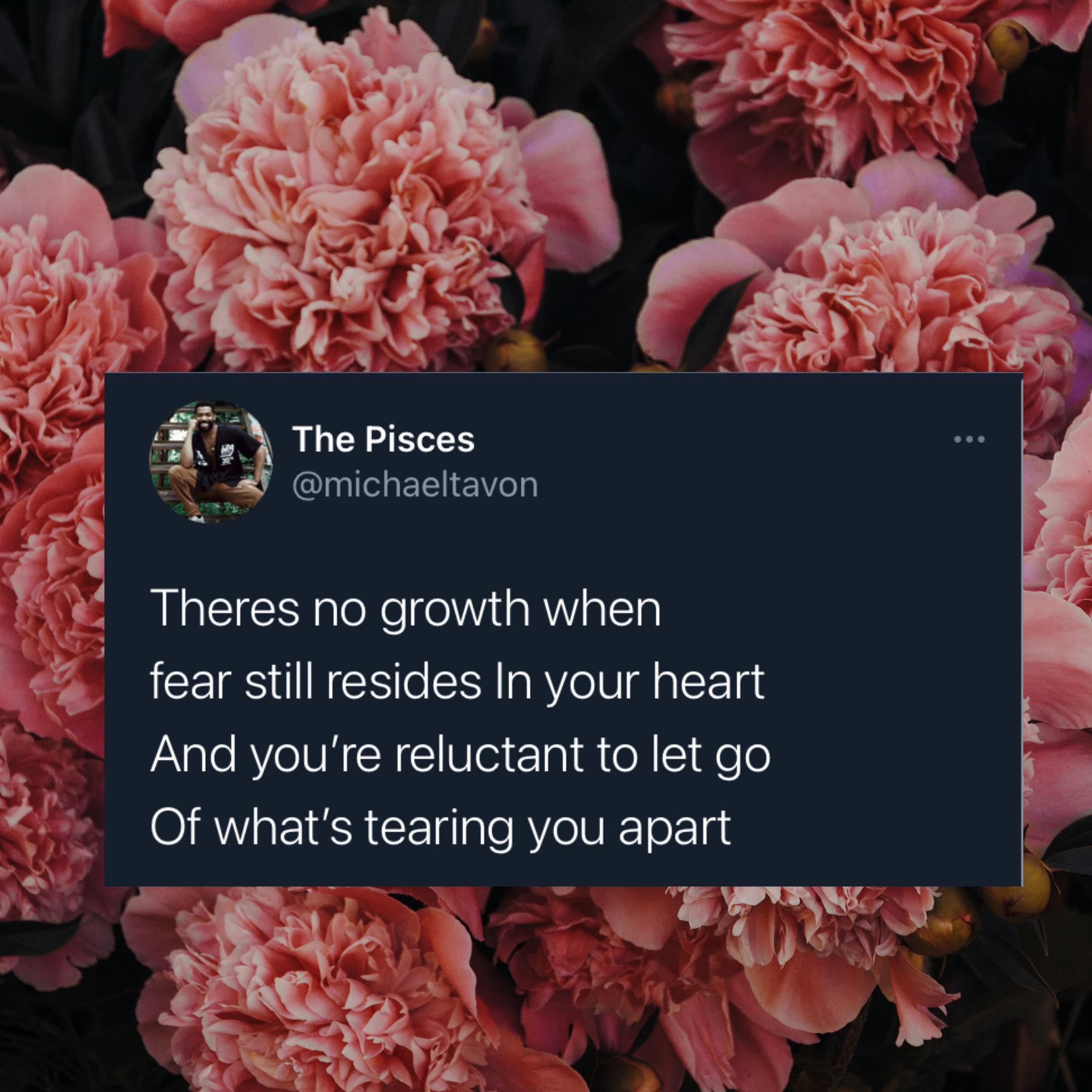 """There's no growth"" – Michael Tavon {360 x 360}"