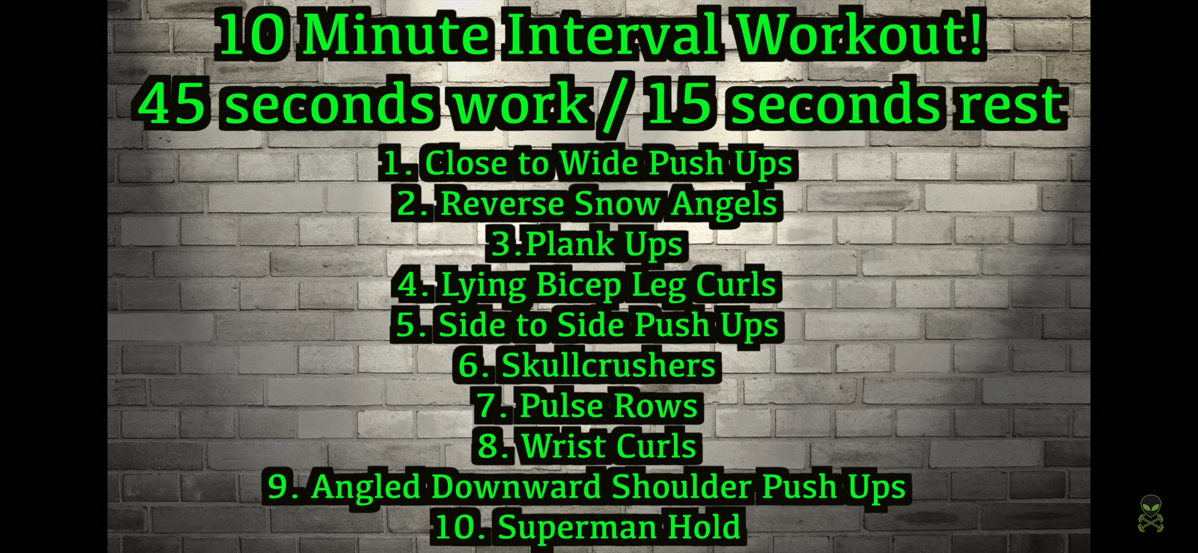 [Image] is this plan a good way to build upper body muscle with no equipment? Also how many times a day should i be doing this workout? Its only 10 minutes. I'm skinny fat and really need to build upper body muscle basically everywhere.