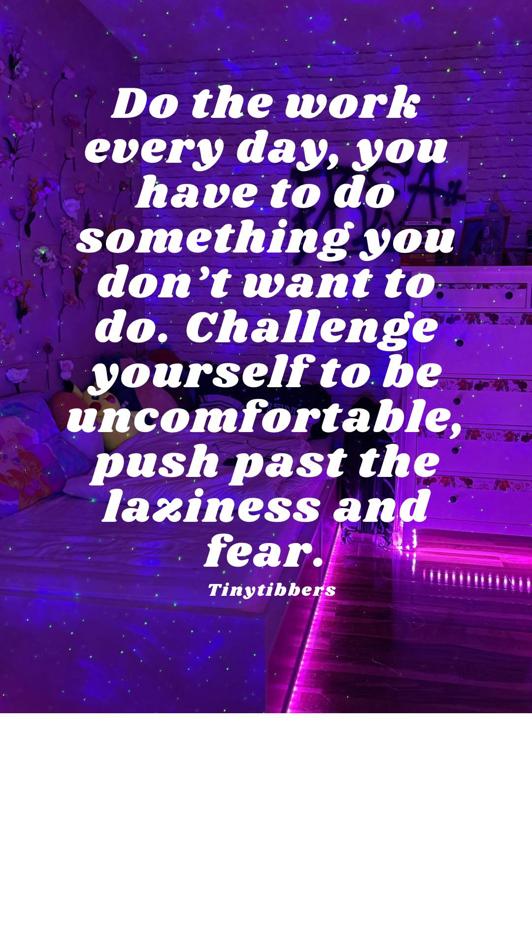 [image] Challenge yourself everyday