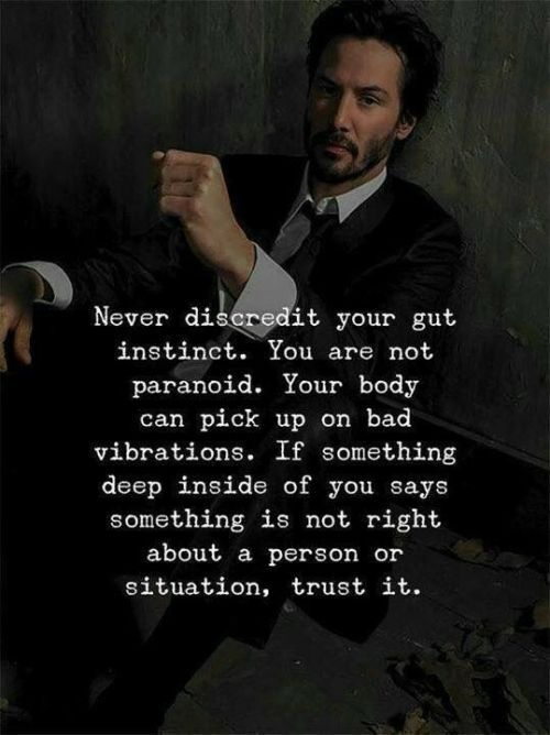 [Image] Trust the gut