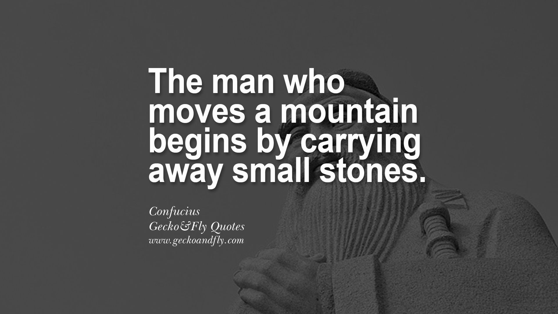 [Image] moving some stones today