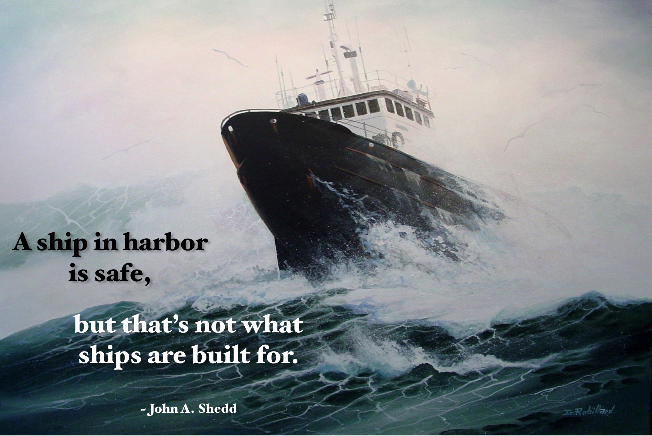 [IMAGE] Sail outside your comfort zone.