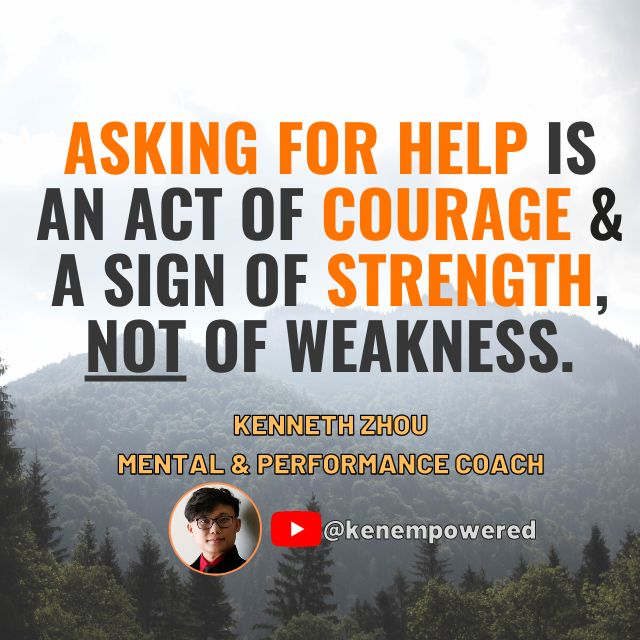[Image] Asking For Help Isn't Weak