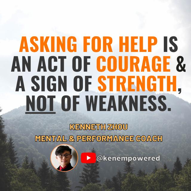 [Image] Asking For Help Isn't Weak