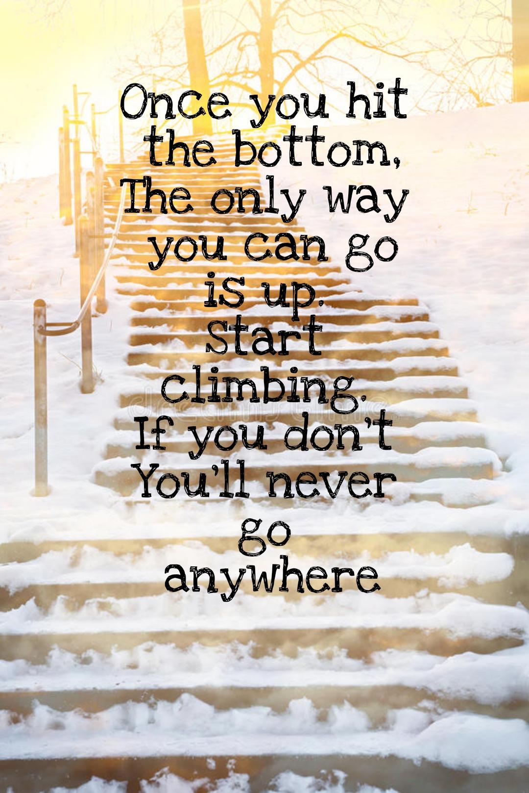 [Image] Start climbing!