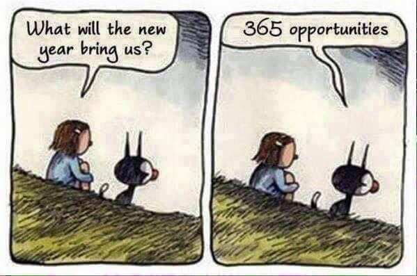 [Image] A year full of opportunities.