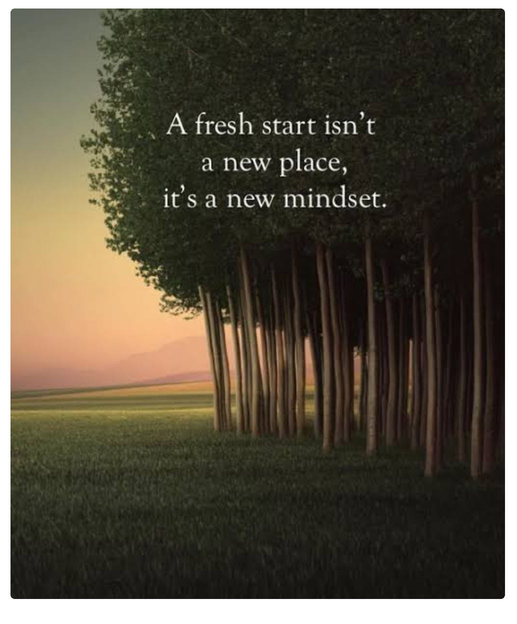 [Image] Remember guys ,it's totally okay to Have a fresh start , it's not the end of the world if you do so .