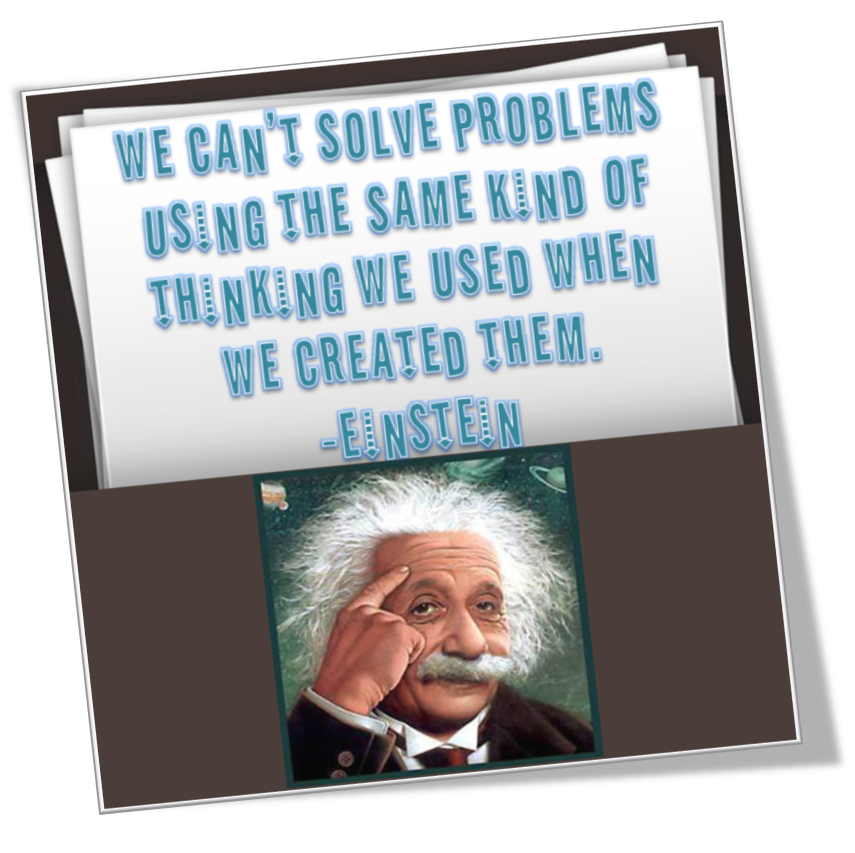 [Image] Einstein's Quote