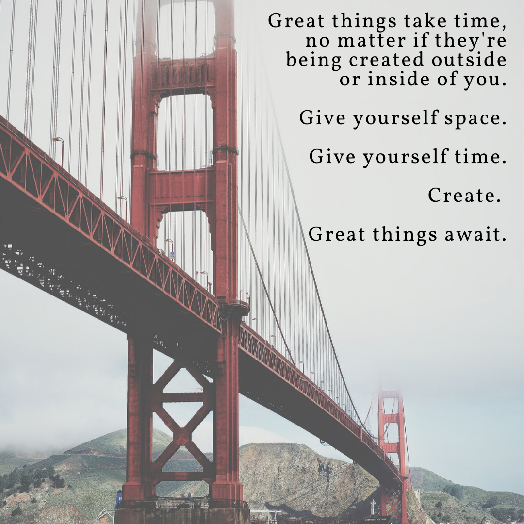 [Image] Great things await.