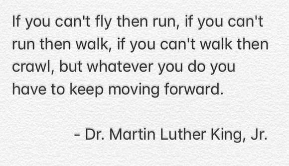 [Image] Keep moving forward…