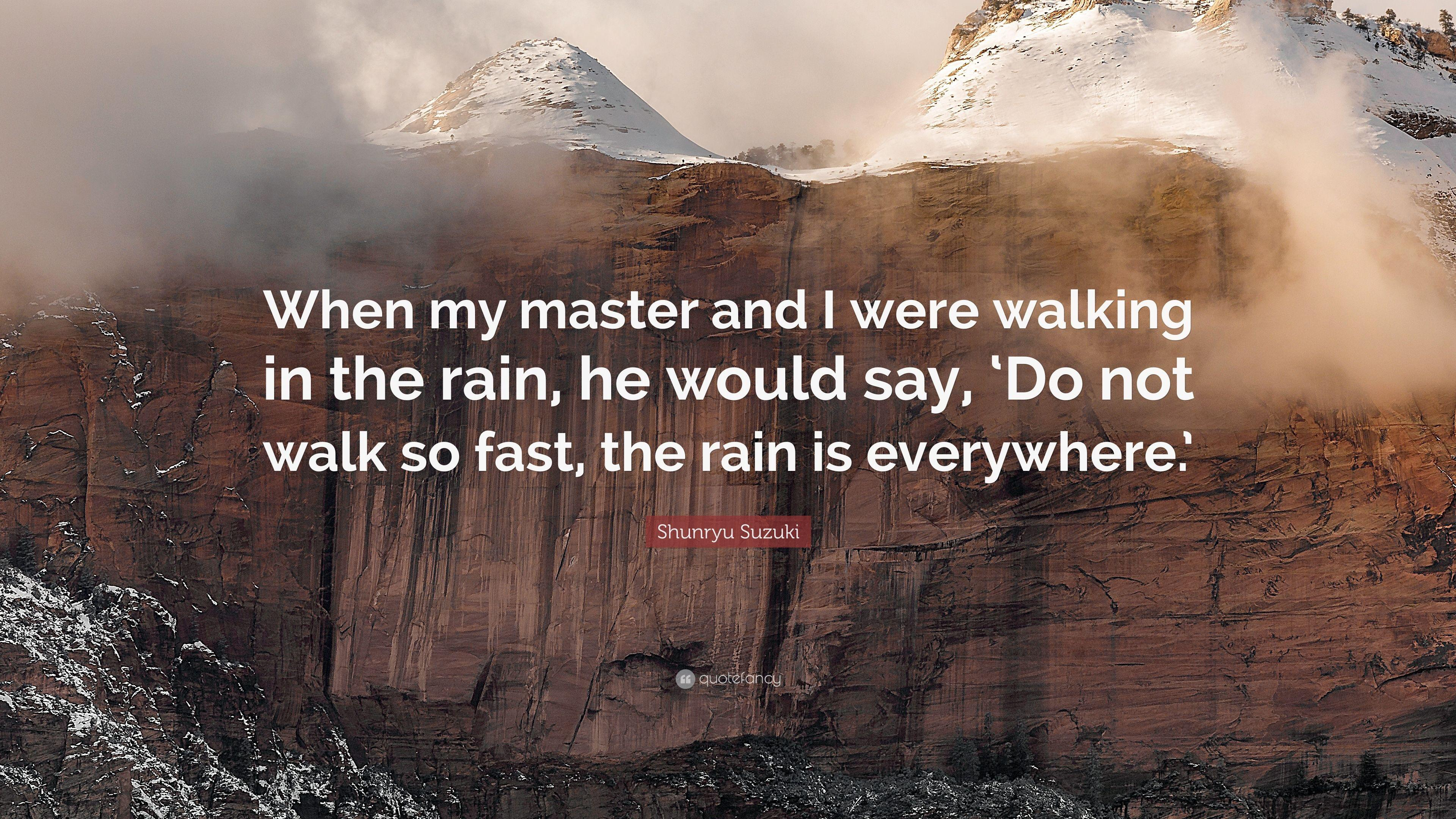 [IMAGE] Walking in The Rain