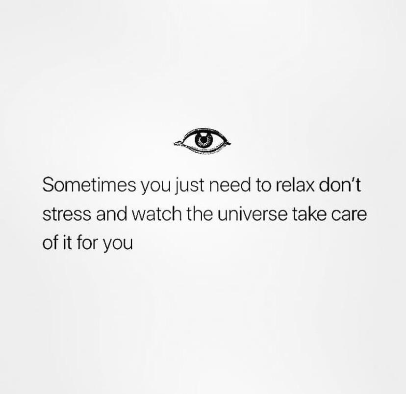 [Image] sometimes you need to just relax.