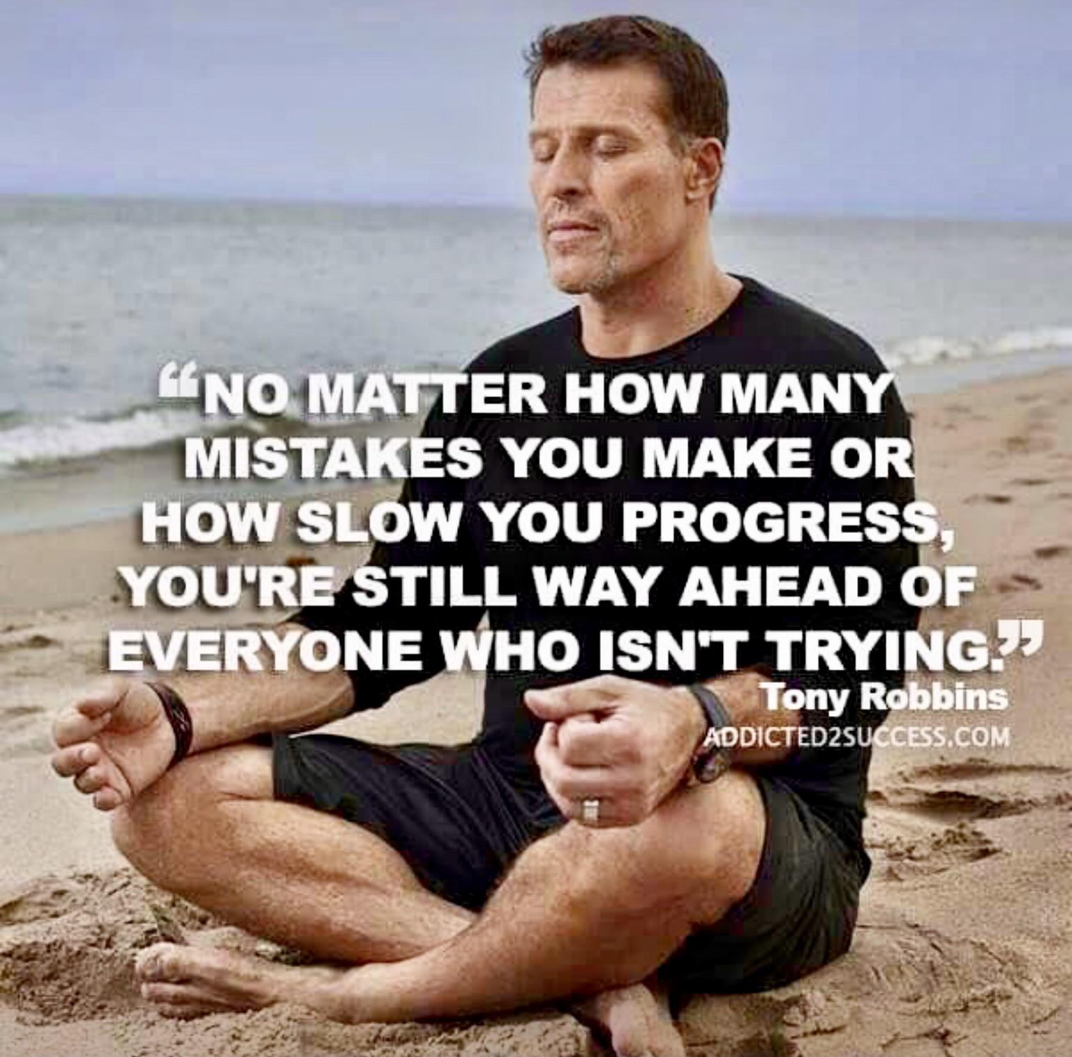 No matter how many mistakes you make. ~Tony Robbins [1536 X 1515]