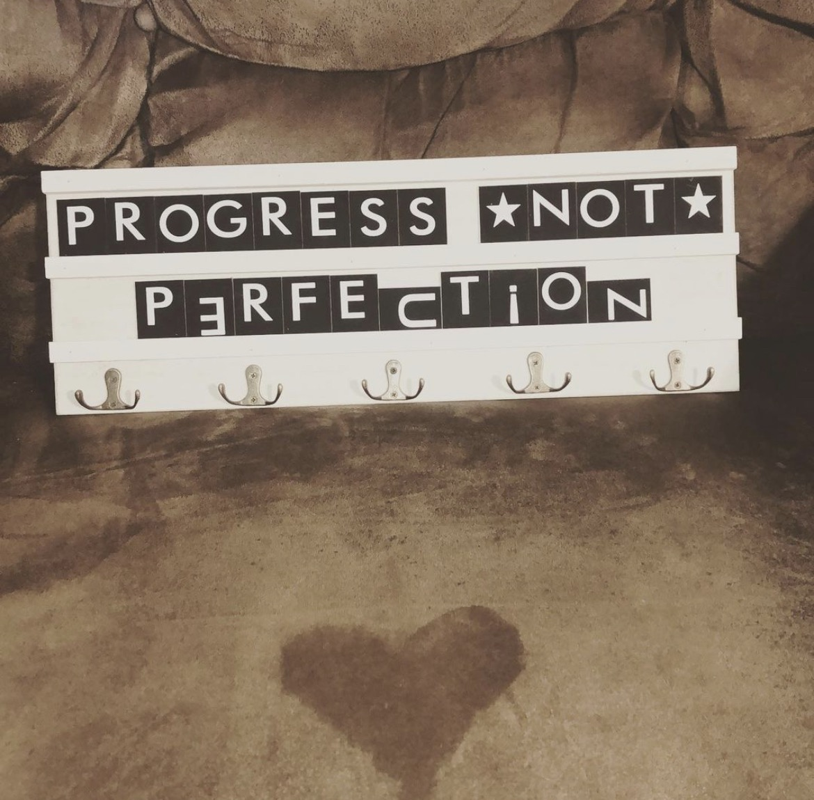 [Image] Progress *not* Perfection