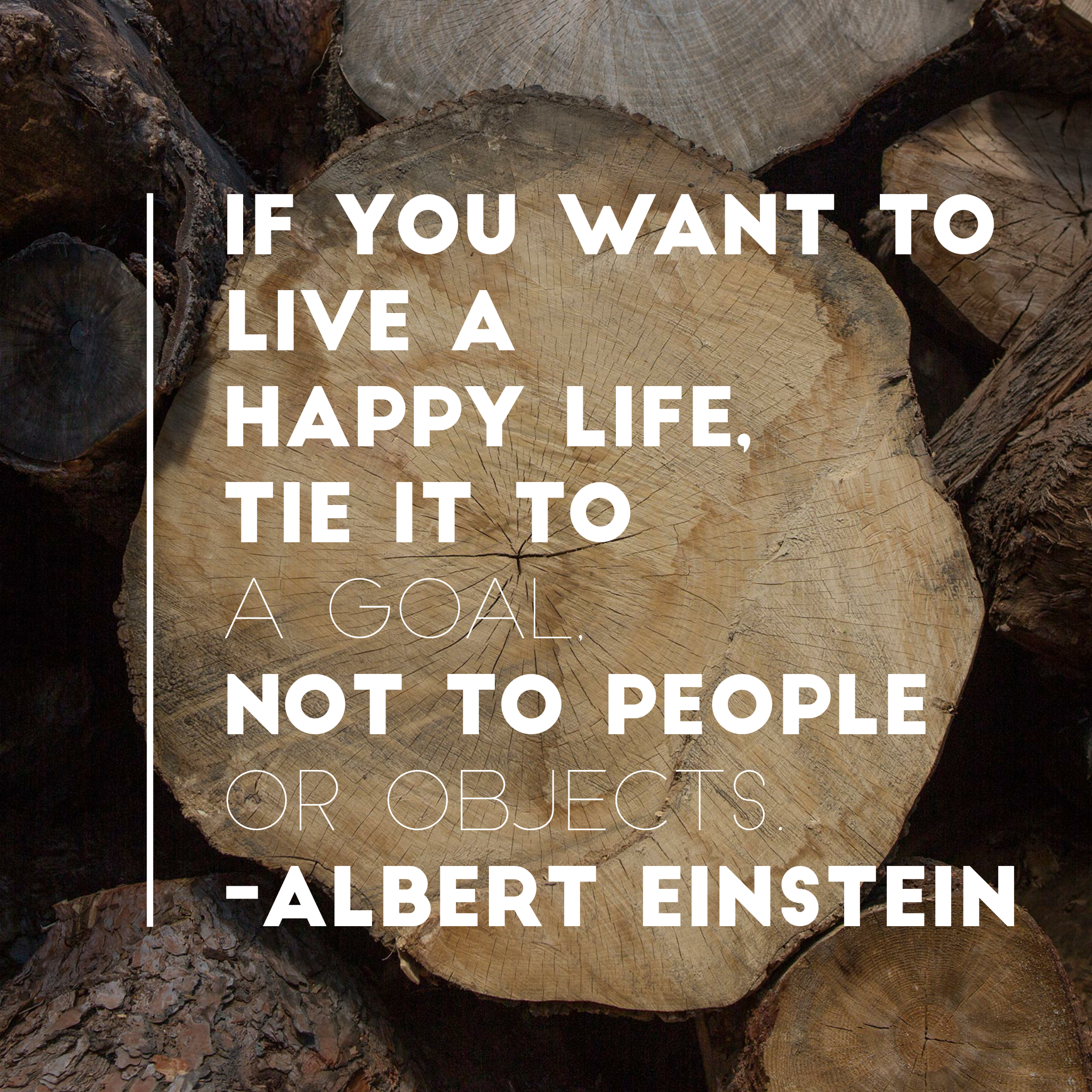 A happy life! by Albert Einstein! [2048 x 2048] !