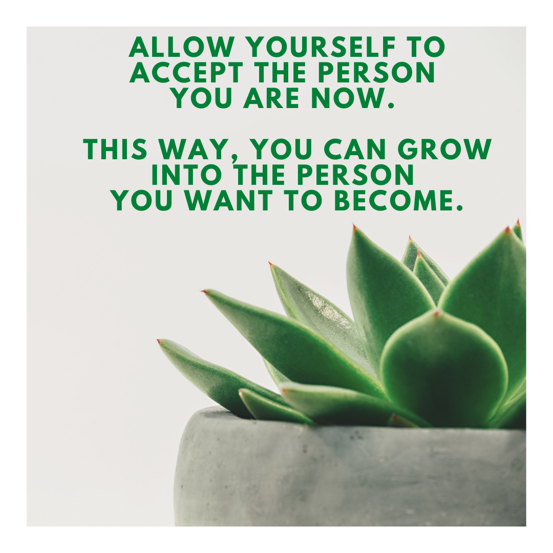 [Image] Growth comes from acceptance.