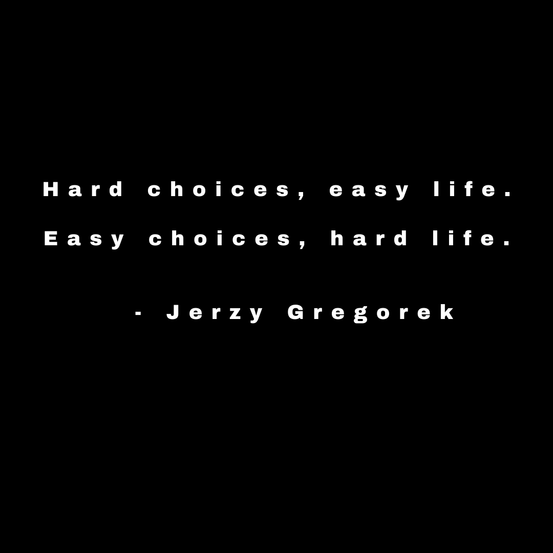 [Image] Choices…