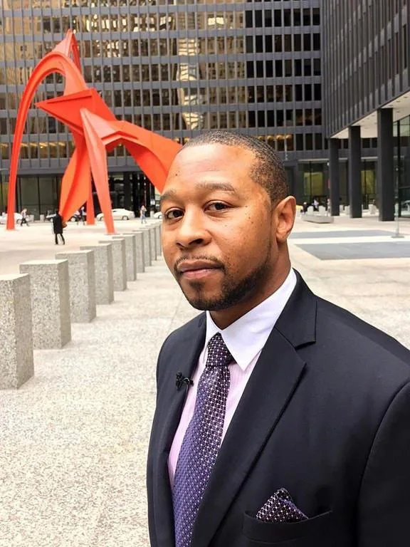 [Image] This man, Jarrett Adams, spent ten years in prison after being wrongfully accused of a crime. He used the prison library to study law and get his sentence overturned. Adams is now a lawyer and dedicates his work to help overturn other wrongful convicted.