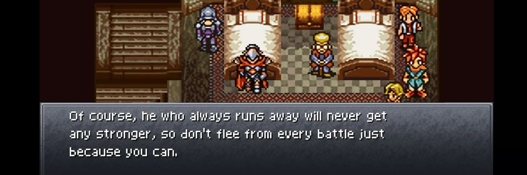 [Image] Some wise words from a 15-year old game, Chrono Trigger