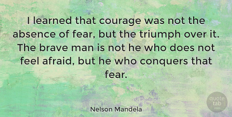 [Image]Never let fear conquer you