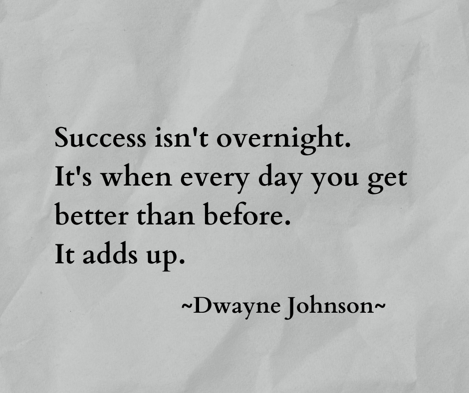 [Image] Add up every day.