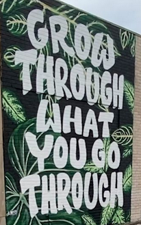 [IMAGE] GROW THROUGH WHAT YOU GO THROUGH