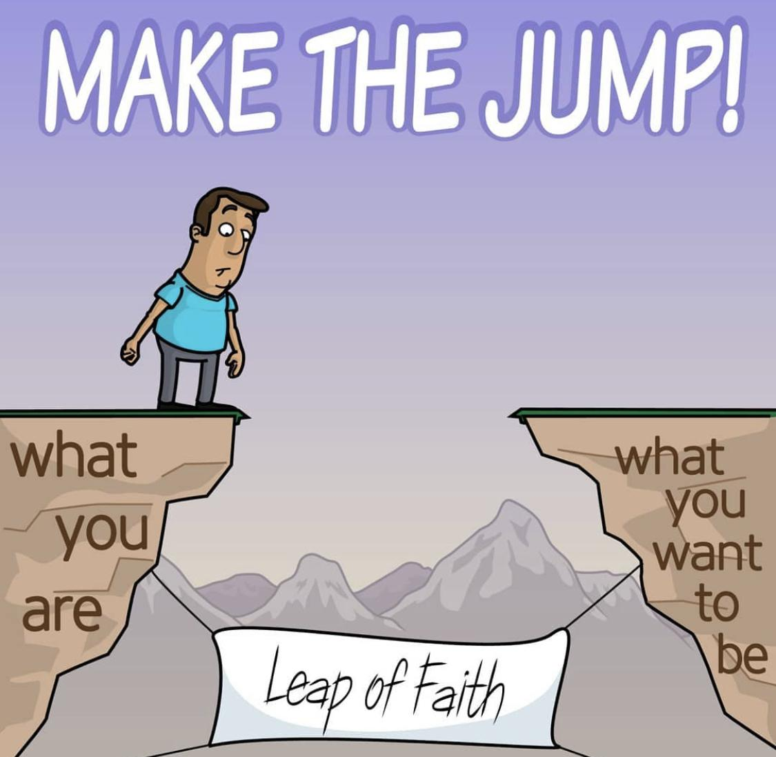 [Image] Make the Jump!