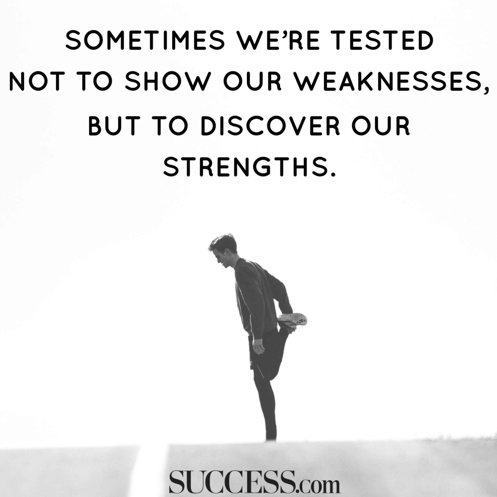 [IMAGE] SOMETIMES WE'RE TESTED…