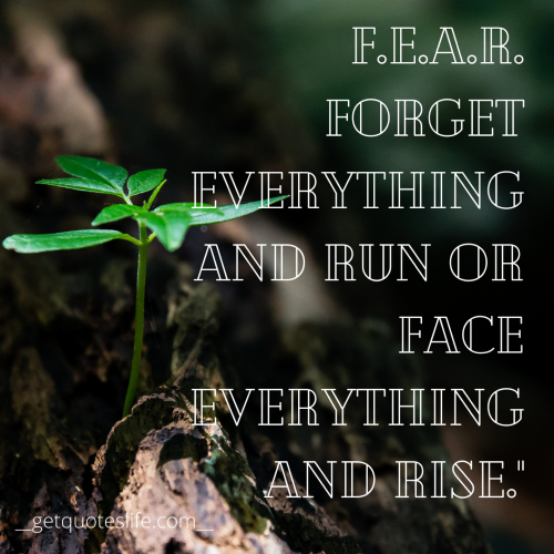Win Your FEAR! Enjoy Your Life [500*500]