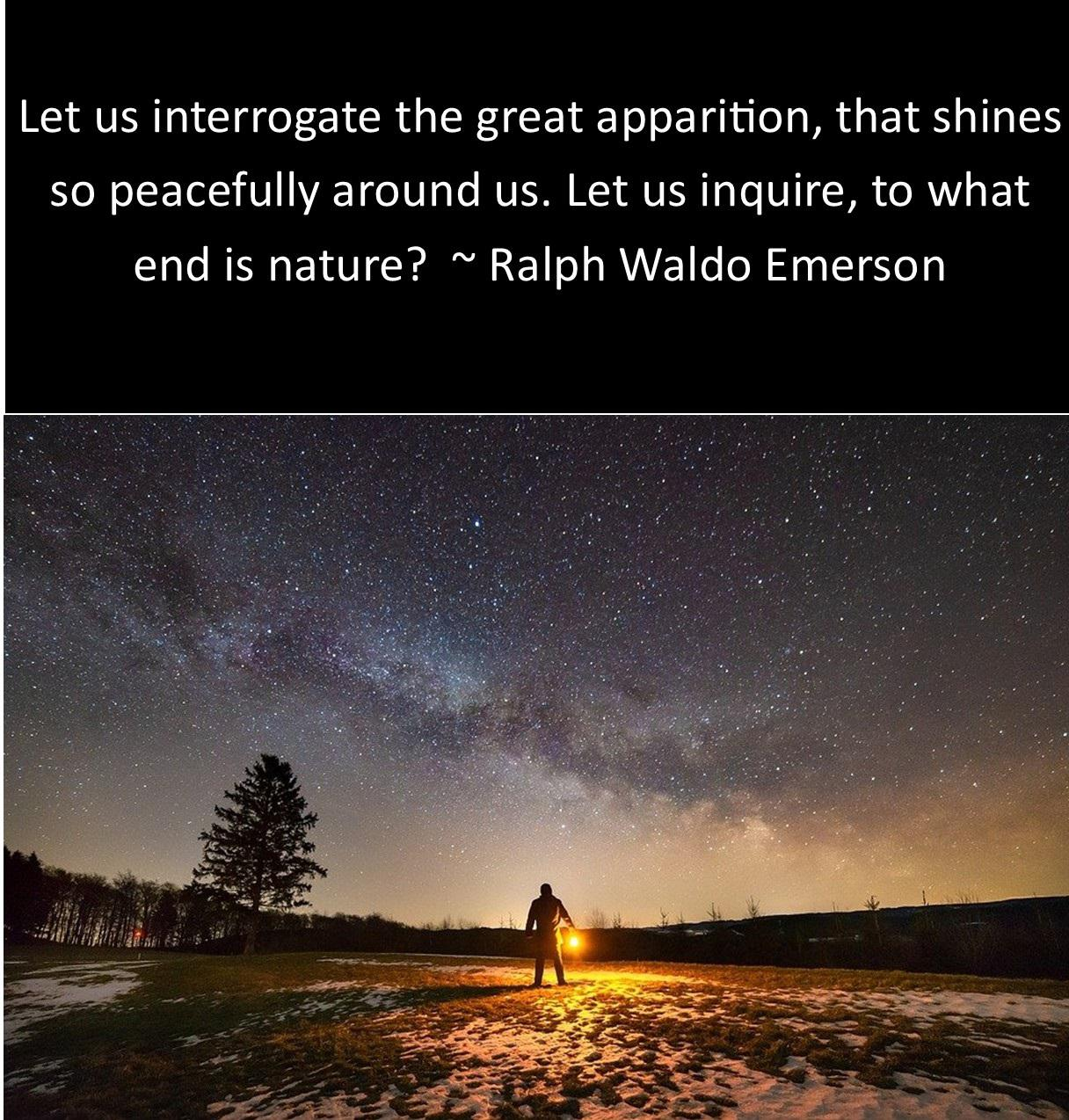 """Let us interrogate the great apparition, that shines so peacefully around us…."" ~Ralph Waldo Emerson [OC] [1216 x 1274]"