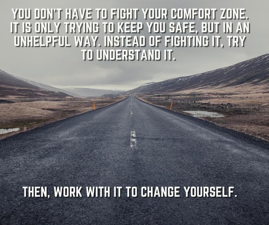[Image] Comfort zone.
